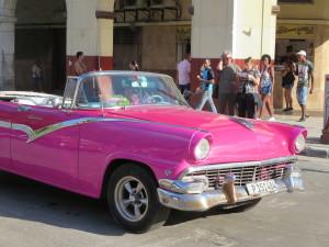 Typical Oldtimer in Havana